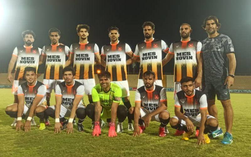 ایرانجوان بوشهر 0-1 مس نوین/یک گام تا جایگاه دوم و صعود به پلی آف