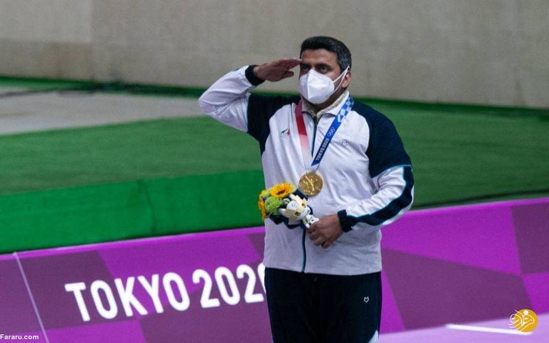تبریک اولین مدال طلای کاروان ایران/ جواد فروغی عزیز به تو افتخار می کنیم!