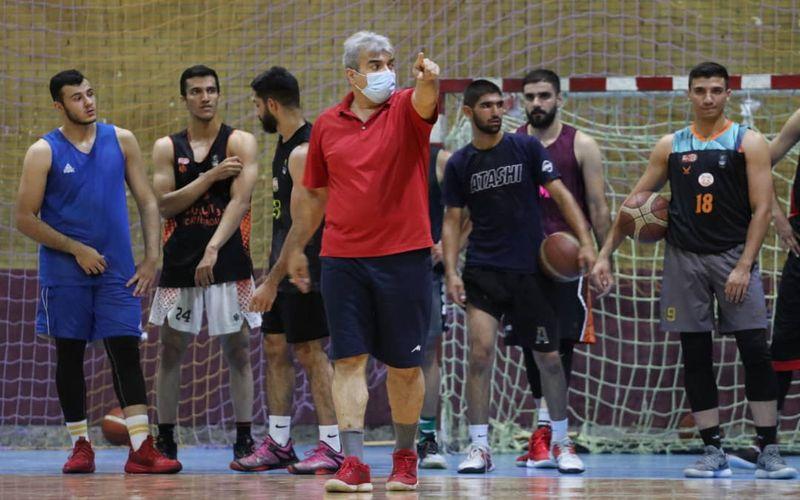 گزارش تصویری از تمرینات و تست گیری تیم بسکتبال مس کرمان