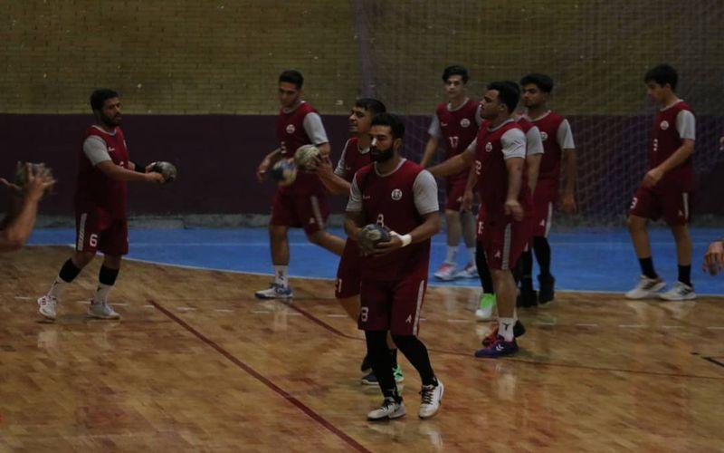 تمرینات باانگیزه هندبالیست های مس در آستانه دور جدید بازی های خود در لیگ برتر(عکس)