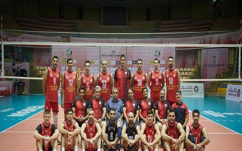 تبریک قهرمانی تیم والیبال فولاد سیرجان در جام باشگاه های آسیا