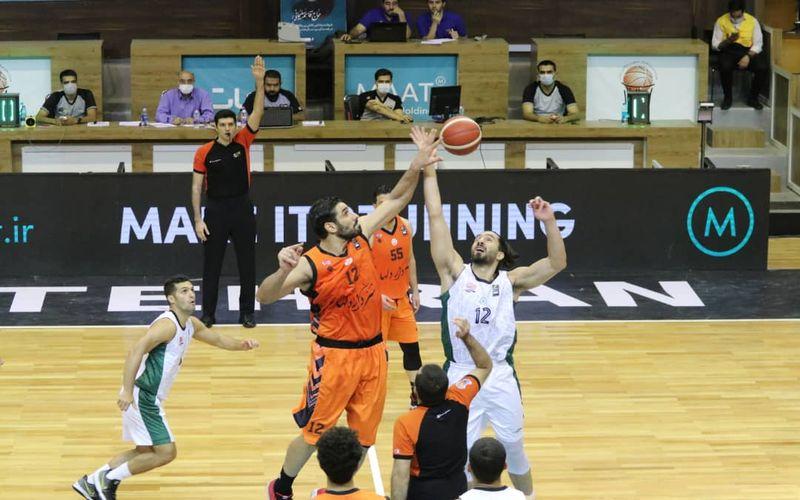 گزارش تصویری بازی بسکتبال مس کرمان و ذوب آهن اصفهان
