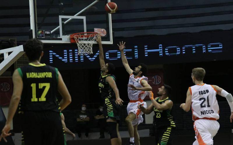 بسکتبالیست های مس کرمان با اقتدار سبد نیروی زمینی را فتح کردند