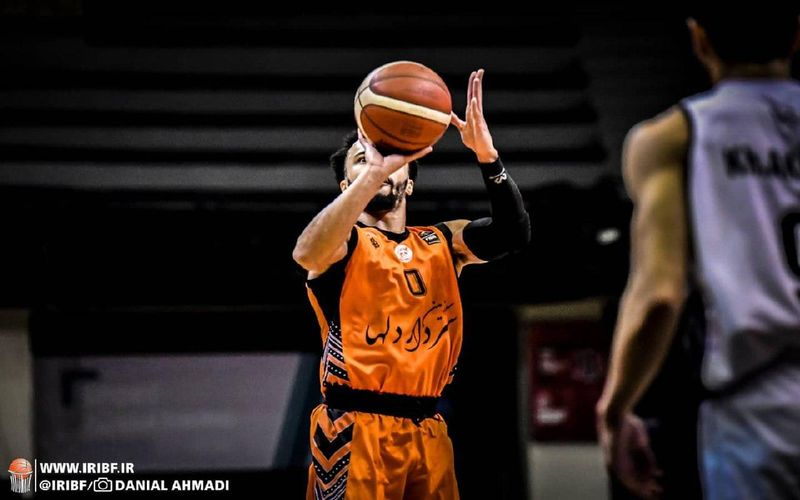 گزارش تصویری بازی بسکتبال مس کرمان و نیروی زمینی