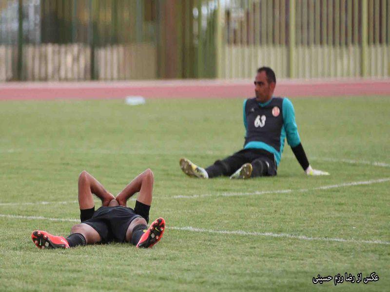 گزارش تصویری بازی مس کرمان1-2 نفت آبادان هفته سی و پنجم رقابت های لیگ یک - 15 تصویر