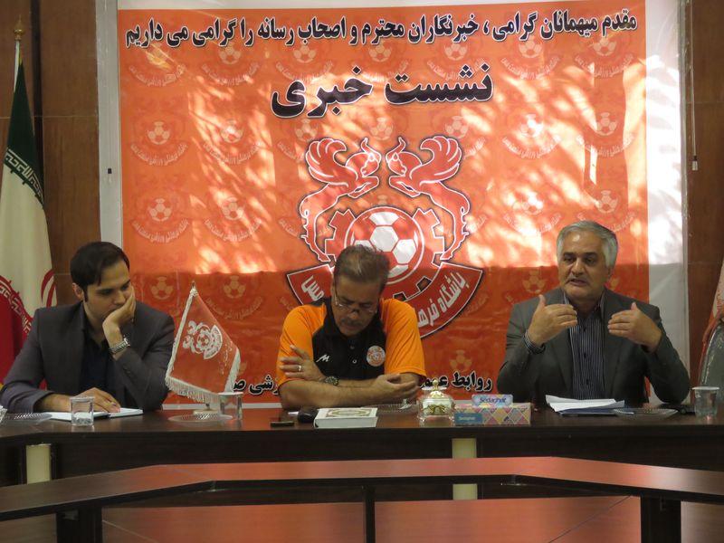 گزارش تصویری حاشیههای کنفرانس مطبوعاتی مدیر عامل وسرمربی مس کرمان - 20 تصویر