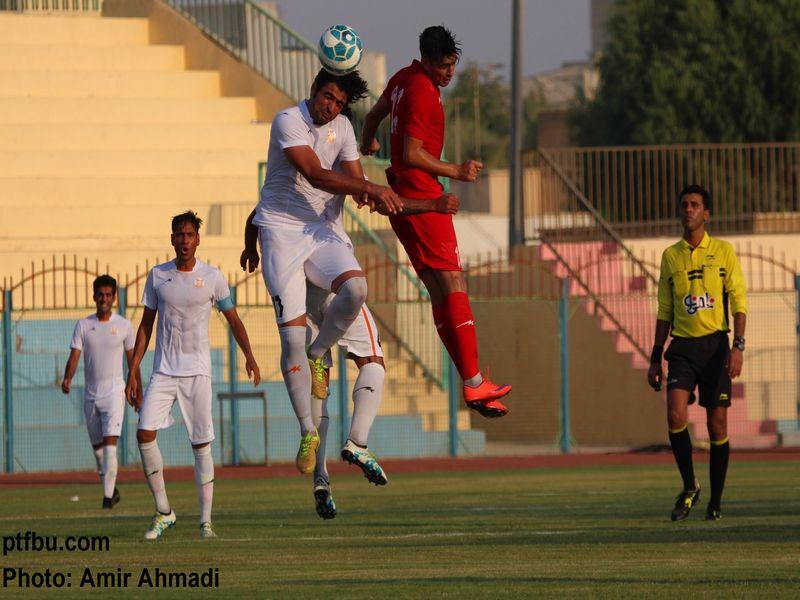 گزارش تصویری بازی مس1-1 ایرانجوان هفته دوم لیگ دسته یک - 20 تصویر