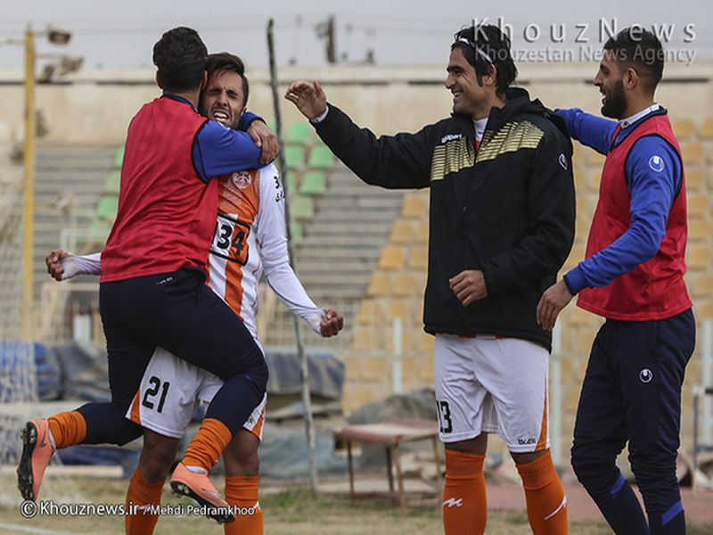 گزارش تصویری بازی استقلال اهواز1-5 مس کرمان هفته بیست و دوم رقابتهای لیگ یک - 20 تصویر