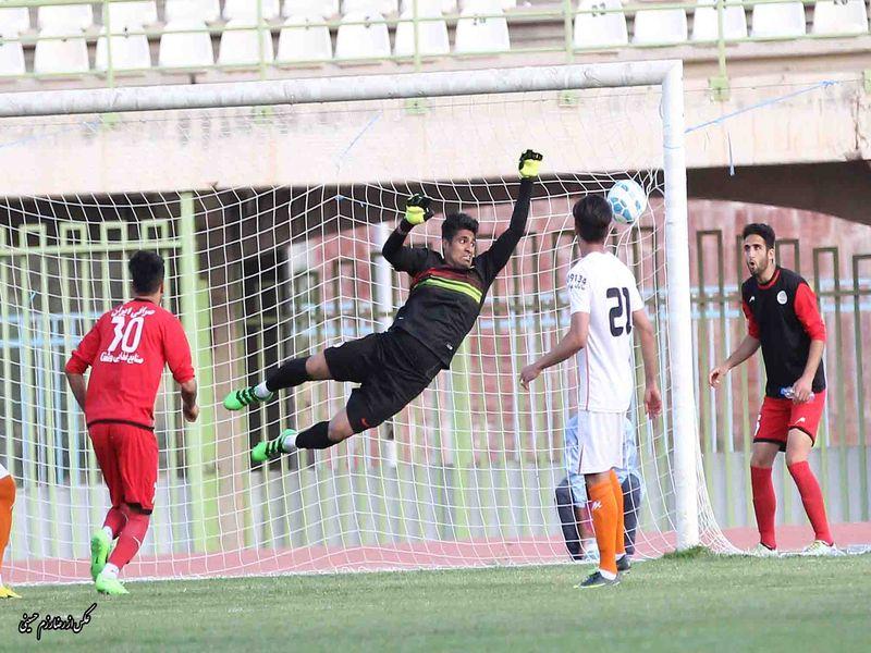 گزارش تصویری بازی مس1-2خونه به خونه هفته سی ویکم رقابت های لیگ دسته اول کشور - 34 تصویر