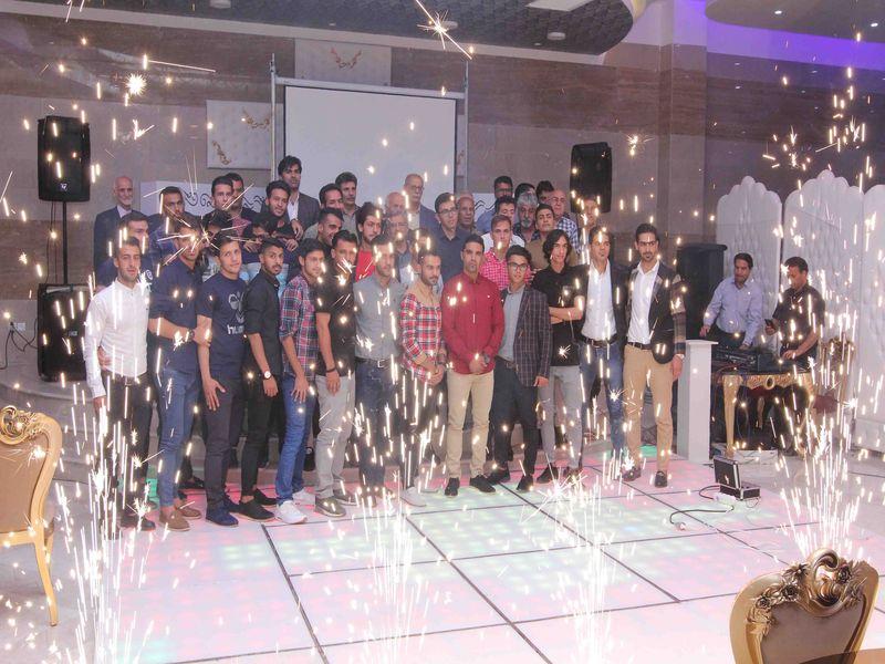 گزارش تصویری جشن صعود تیم فوتبال مس ب به لیگ دسته دوم کشور  - 19 تصویر