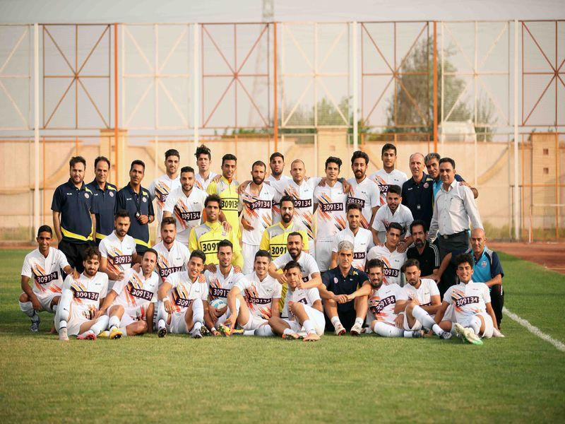 گزارش تصویری تمرینات تیم فوتبال مس