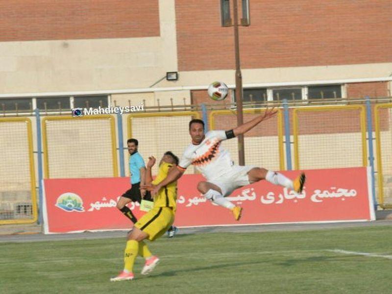 گزارش تصویری بازی شهرداری ماهشهر ومس