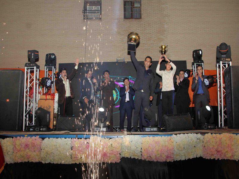 گزارش تصویری جشن پایان دوره باشگاه مس