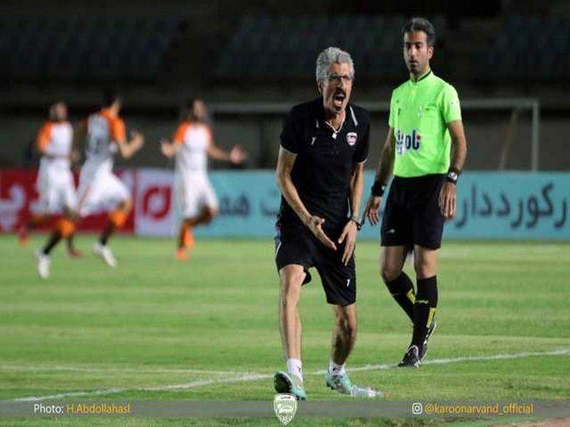 گزارش تصویری بازی اروند خرمشهر1-3 مس کرمان هفته نهم لیگ یک - 11 تصویر