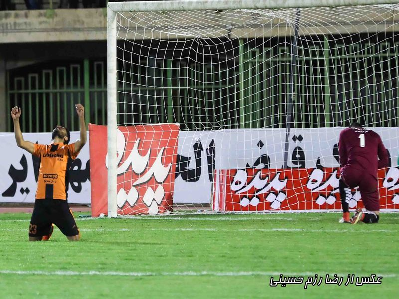 گزارش تصویری بازی مس و سپاهان مرحله یک چهارم نهایی جام حذفی - 56 تصویر