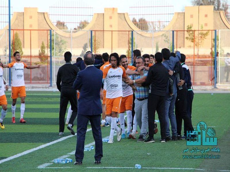 گزارش تصویری بازی مس رفسنجان0-1مس کرمان هفته یازدهم لیگ یک فصل 97-98 - 28 تصویر