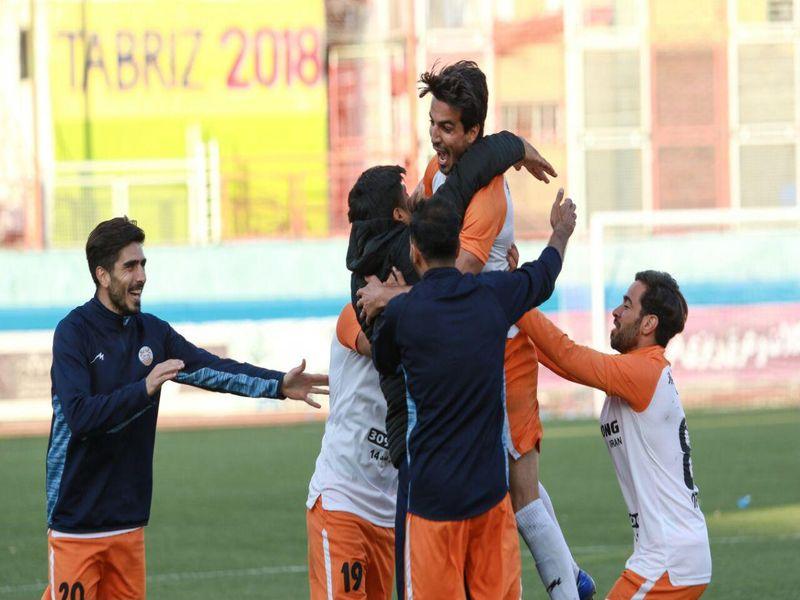 گزارش تصویری بازی شهرداری تبریز2-2مس کرمان هفته چهاردهم لیگ یک - 19 تصویر