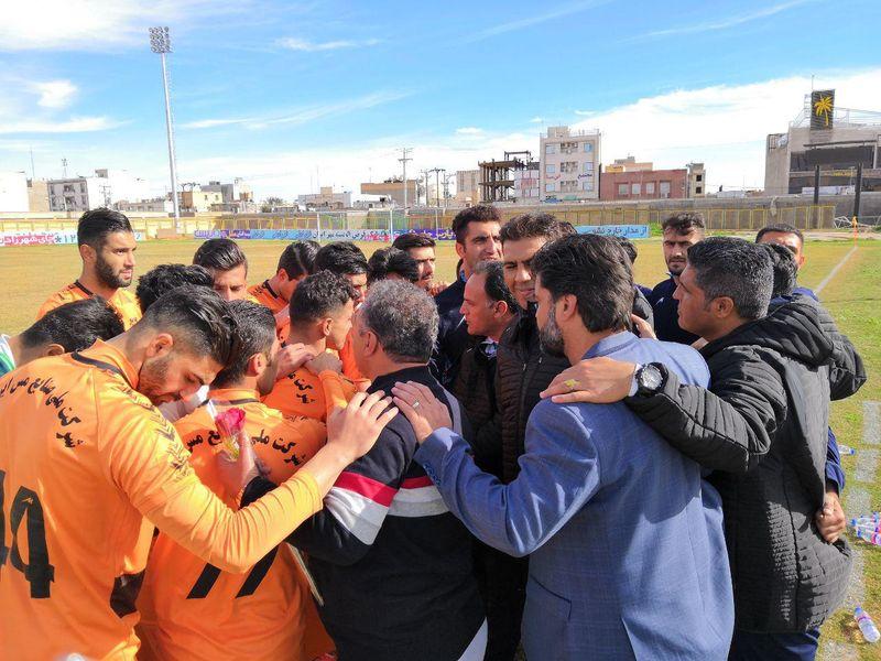 گزارش تصویری بازی شهرداری ماهشهر0-0مس هفته هجدهم لیگ فصل 97-98 - 10 تصویر