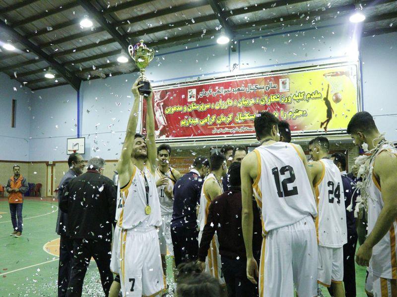 گزارش تصویری قهرمانی تیم بسکتبال مس در رقابت های گروه جنوب لیگ دسته اول - 18 تصویر