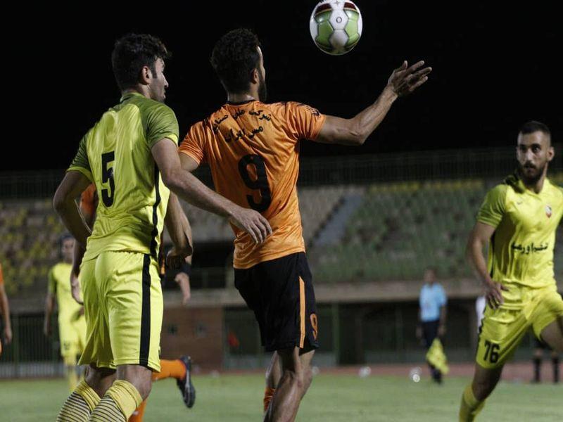 گزارش تصویری (به دوربین فاضل حبیبی) بازی مس0-0نود هفته بیست و نهم لیگ یک فصل 98_99 - 20 تصویر