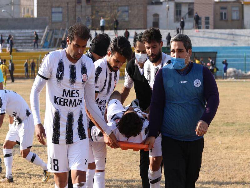 گزارش تصویری خوشه طلایی 0-0 مس کرمان هفته ششم لیگ یک فصل 99-00 - 10 تصویر