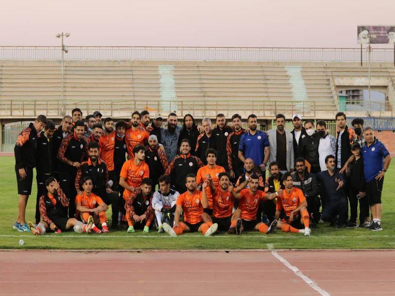 گزارش تصویری مس کرمان 1-0 مس شهربابک هفته دوم لیگ یک 1400-1401 به روایت دوربین فاضل حبیبی - 19 تصویر