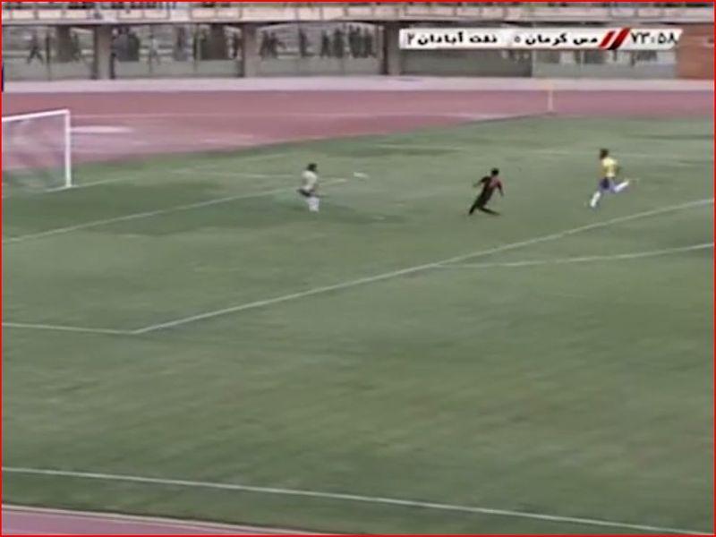 ویدیو بازی مس 1-2 نفت آبادان هفته سی و پنجم رقابتهای لیگ یک