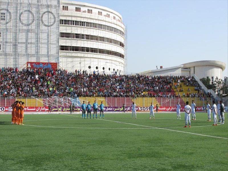 گزارش ویدیویی بازی تیم های نساجی0-0مس هفته چهارم لیگ 95-96 دسته اول کشور