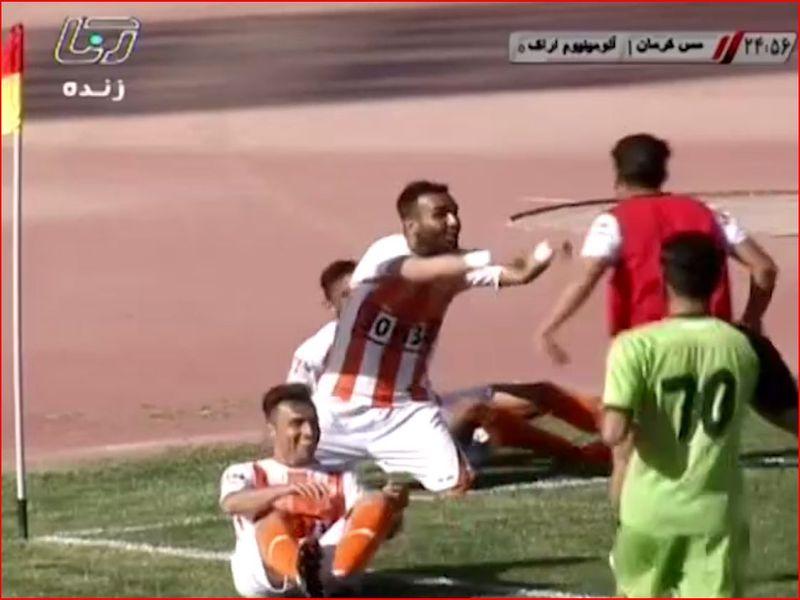 ویدیو خلاصه بازی مس1-0 آلومینیوم هفته بیست و نهم رقابتهای لیگ دسته اول کشور