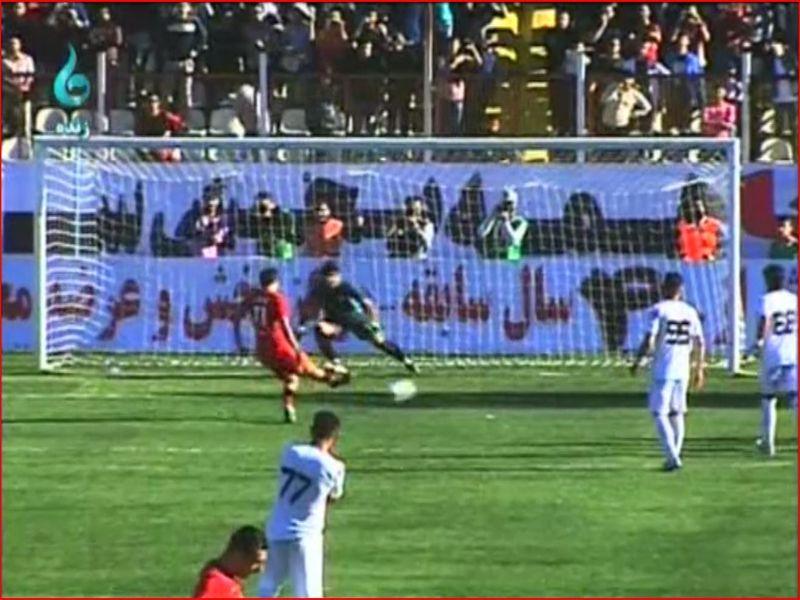 خلاصه بازی سپیدرود 1-0 مس هفته سی ام رقابت های لیگ دسته اول کشور
