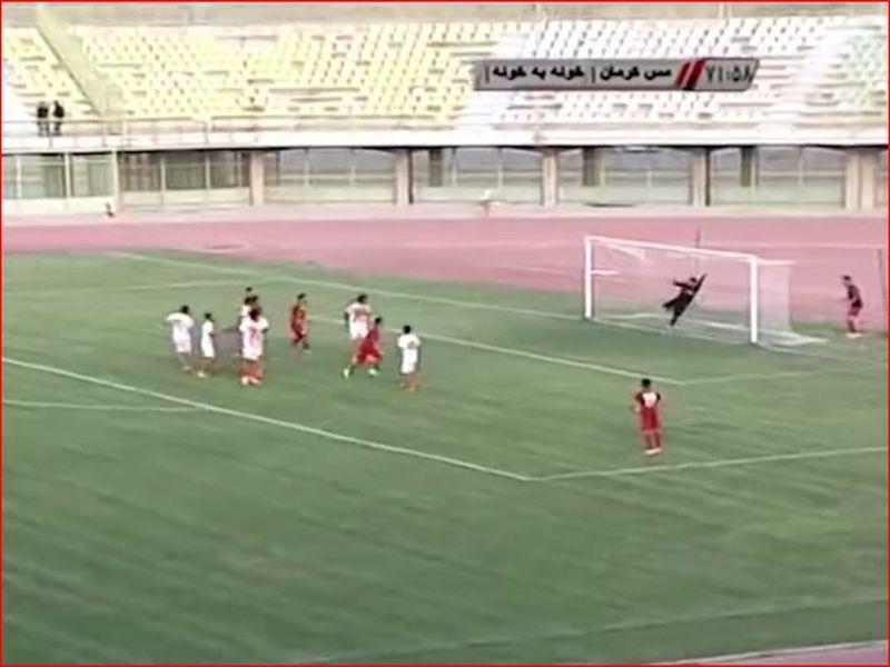 ویدیو خلاصه بازی مس1-2 خونه به خونه هفته سی و یکم رقابتهای لیگ دسته اول کشور