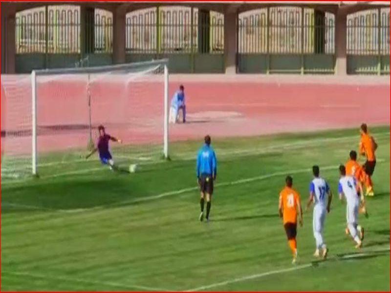 خلاصه بازی مس2-2نفت مسجدسلیمان هفته سی وسوم رقابتهای لیگ دسته اول کشور