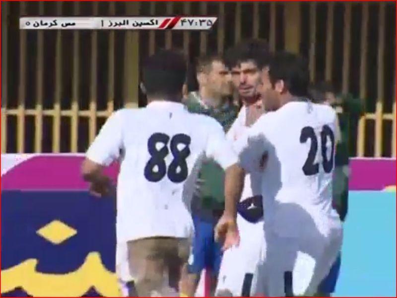 ویدیو خلاصه بازی اکسین1-1 مس هفته بیست و پنجم لیگ یک
