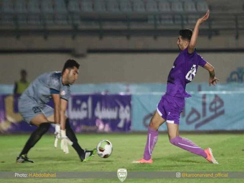 خلاصه بازی اروند1-3 مس هفته نهم لیگ دسته اول کشور